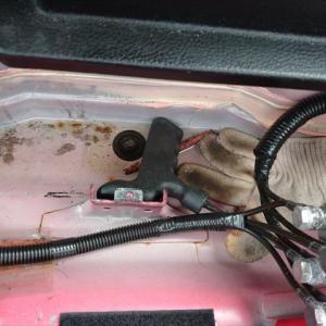 L880Kコペン トランク雨漏り