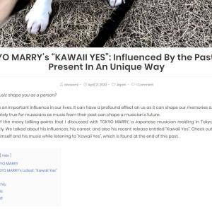 わお950 またはTOKYO MARRYインタビュー&カイル君個展画像
