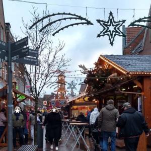 恒例のクリスマスマーケット