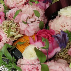 花とシャンパーニュ