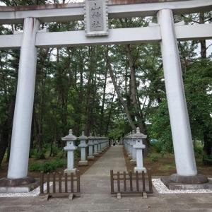 小牛田 山神社 のアジサイ と HIBARI のラーメン