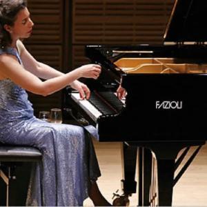 真空管Cossor300Bに交換し、アンジェラ・ヒューイットAngela Hewittのピアノ演奏を聴く。