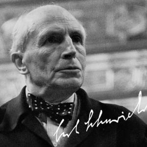 筆者の前世代の指揮者カール・アドルフ・シューリヒト(Carl Adolph Schuricht)を考察する。