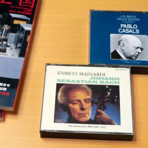 エンリコ・マイナルディ( チェロ)演奏の一番長いJ.S.バッハ:無伴奏チェロ組曲(全曲)を検証