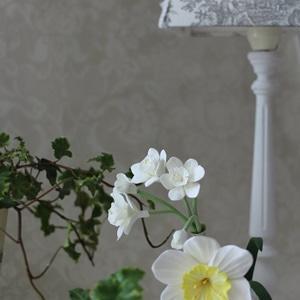 クレイフラワー・春を告げるお花水仙