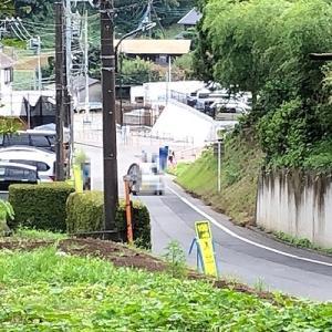 町田市道忠生630号線の拡幅工事
