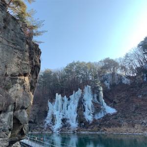 韓国も暖冬なのね