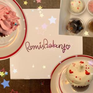 キャロット☆ベリー☆カップケーキ