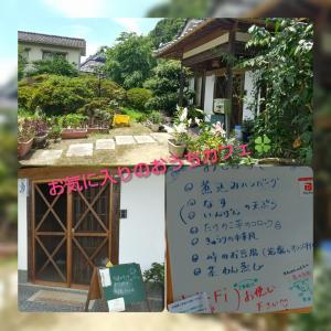 7月④(古民家カフェランチ二つ+棚田とか)