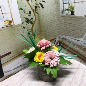 工作   小菊を作る     小菊パート1