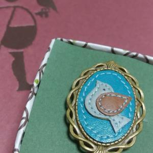 カメオ風指輪💍また作りました