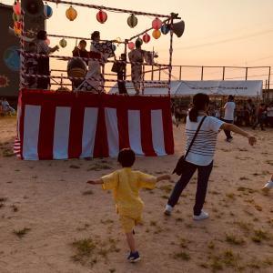 2019年 夏休み    盆踊りへ