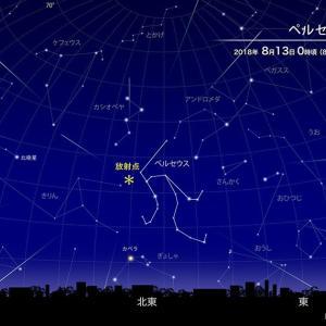 ペルセウス座流星群は全然見えなかったよ~ ☆