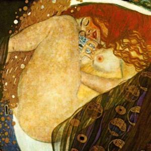 クリムト「ダナエ」(1907-8年)