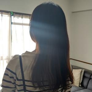 主婦が1年ぶりに髪を切った & いいこ