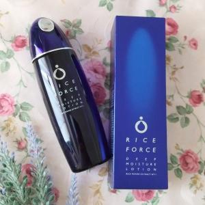 ライスパワーのライスフォースの薬用保湿化粧水ディープモイスチュアローション