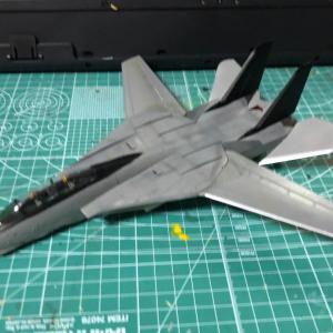ファインモールド 1/72 F-14A トムキャット③
