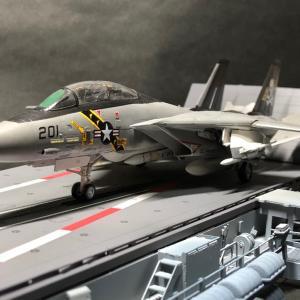 ファインモールド 1/72 F-14A トムキャット⑤ 最終回