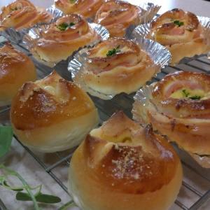 週末のパン焼き(*^-^*)