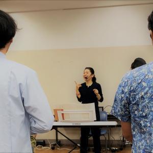 【開催報告:後編】コミュニケーションの為のボイストレーニング~生き辛さを感じる人のための体験講座