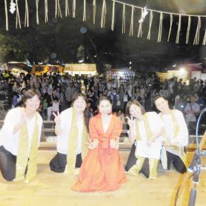 【開催報告】2019ときわ台天祖神社秋祭りステージ無事終わりました♪~ボイトレ&ママ合唱部
