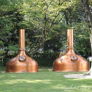 キリンビール工場と彦根城