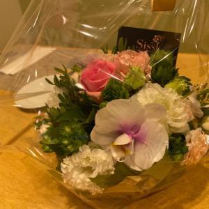 Merci beaucoup〜素敵なお花ありがとうございました‼︎〜