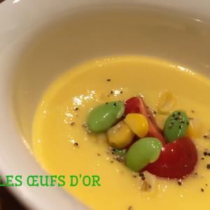 Soupe froide au maïs〜お子様から大人の皆様までお気に入りの‼︎〜