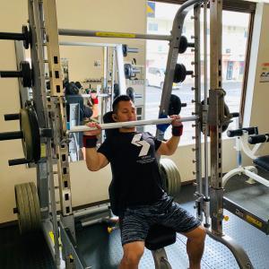 須田トレーナーのモーニングトレーニング