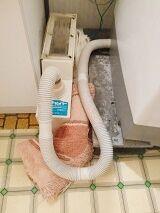 1人暮らしの大ピンチ!洗濯機水漏れ発生!!