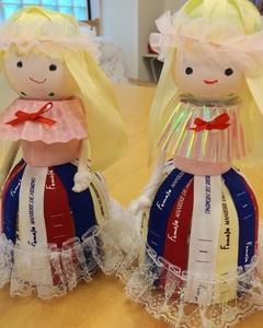 ペットボトル人形 デイサービスの創作レク