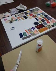 昨日の大人の絵画造形教室 トーイボックス