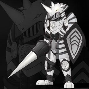 重甲の猛進騎士