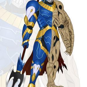 絶滅の鎧騎士