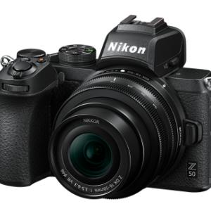ニコンからDX APS-Cフォーマットのミラーレスカメラ Z50が発売されるんですって。