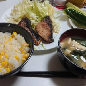 今夜の夕飯