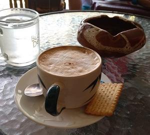パタヤサウスのカフェ 『スモーク&コーヒー』