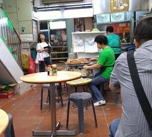 「マカオのグルメ」夜の澳門で勝負の雲吞麺#2