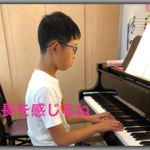 成長を感じる演奏(ピアノ)