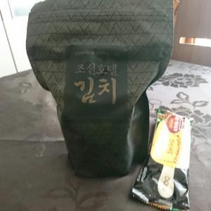 2019年1月 ソウルひとり旅 朝鮮ホテルのキムチ