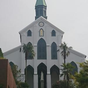 大浦天主堂にある韓国から贈られた記念碑