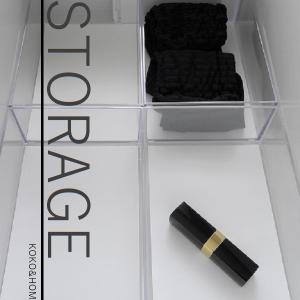 ◆収納用品の組み合わせアイデア3<100円ショップ×無印良品で隙間を味方に変えるワンポイント収納&ベースをつくるスタイル>