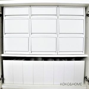 ◆セリア・無印良品<マイヒット商品!収納量アップ&持ち運べる・取り出しやすい・スッキリ見えるワンケース収納>