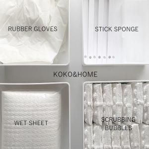 ◆【セリア】白いケースにシンデレラフィット!使うのをやめてシンプル収納