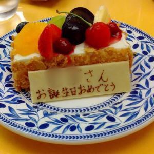 美味しすぎるお料理と……ハピバ〜!!
