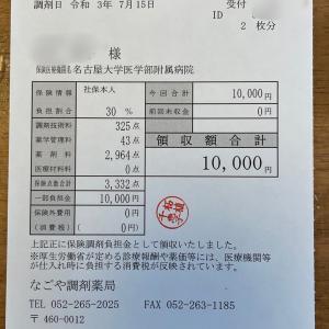 医療費ってお高いのね〜!!