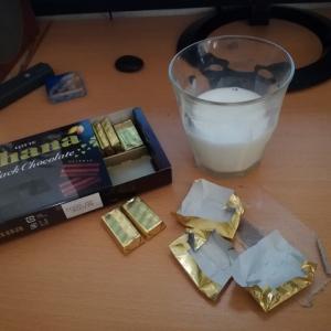 チョコを食べるときの飲み物