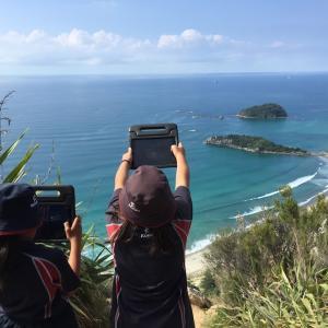 ニュージーランドの今時の野外学習は????