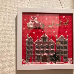 母のクリスマス作品とインスタ映え