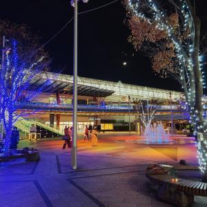 今年も、岐阜駅前のイルミネーション始まりました!